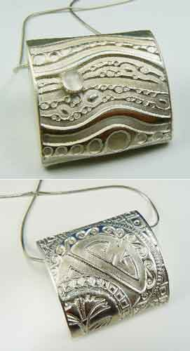 Pendant: Moon River with Mallow